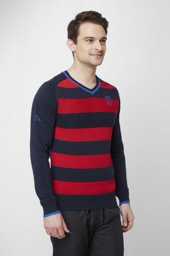 KAPPA Striped Pullover