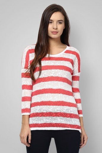 FAME FOREVER Striped T-Shirt