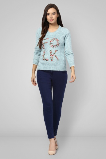 GINGER Embroidered Sweater