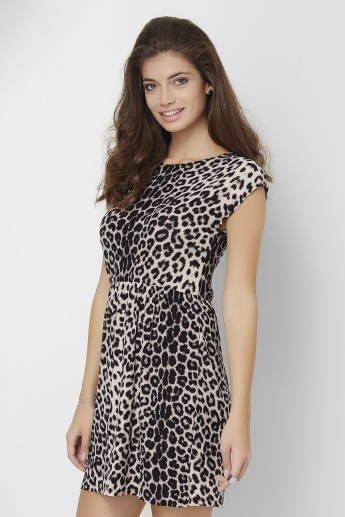 GINGER Leopard Printed Dress