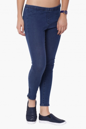 GINGER Zipped Ankle Jeggings