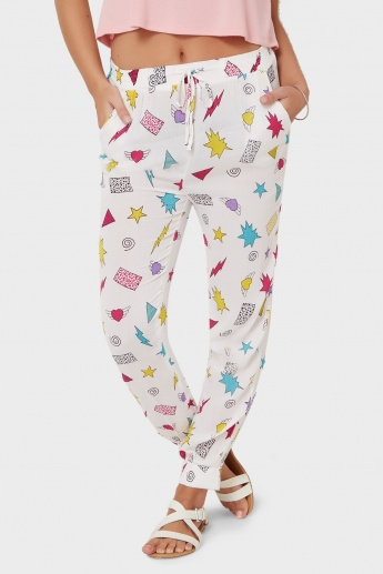 GINGER Candy Land Printed Pants