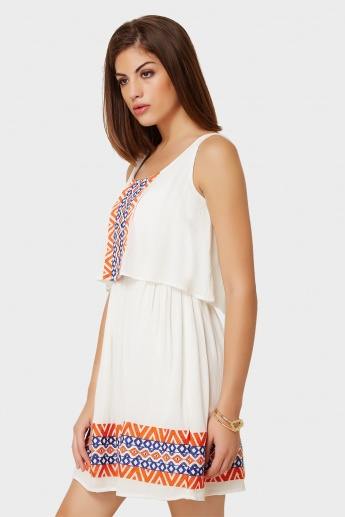 GINGER Sleeveless Summery Dress