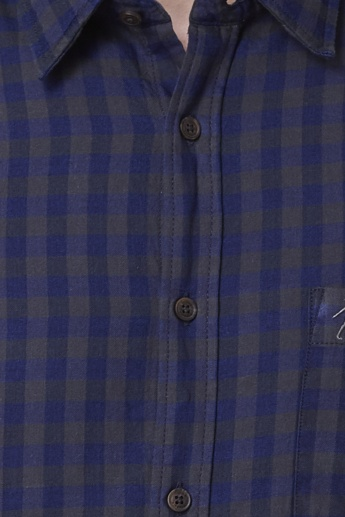 INDIAN TERRAIN Checked Slim Fit Shirt