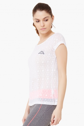 KAPPA Round Neck Sporty Top