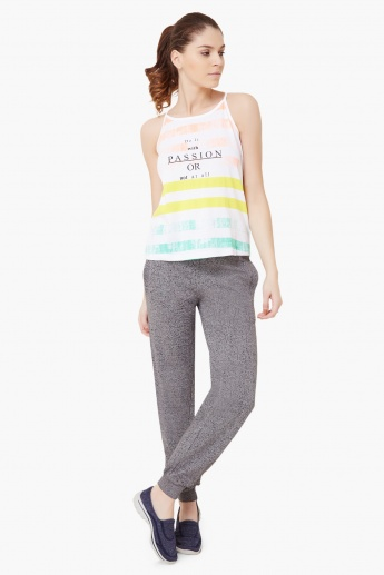 KAPPA Striped Strappy Top