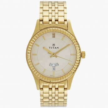 TITAN NE1528YM04 Men Analog with Day & Date Watch