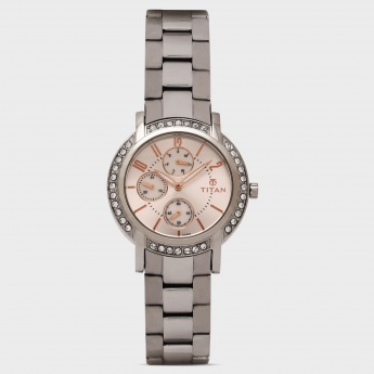 TITAN 9966SM02J Women Analog with Day & Date Watch