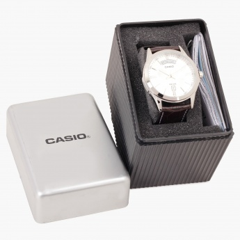 CASIO A845 Analog with Day & Date Watch