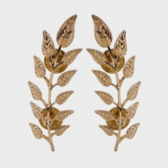TONIQ Spring Leaves Brooch - Set Of 2