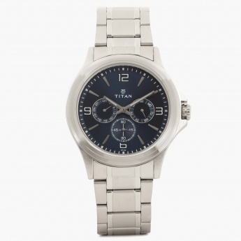 TITAN Steel Collection 1698SM02 Multifunction Watch