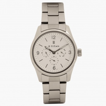 TITAN Steel Collection 9493SM01J Chronograph Watch