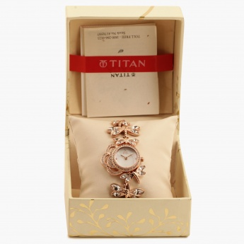 TITAN Raga 95011WM02J Analog Watch