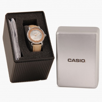 CASIO A1042 Analog with Date Watch