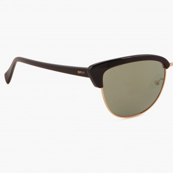 OPIUM OP-1415-C01 Cat-Eye Sunglasses
