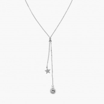 GINGER Dainty Things Silver-Toned Necklace