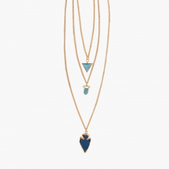 GINGER Gold-Toned Layered Necklace