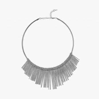 GINGER Silver-Toned Necklace
