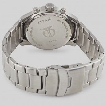 TITAN 1634SM01 Chronograph Stainless Watch