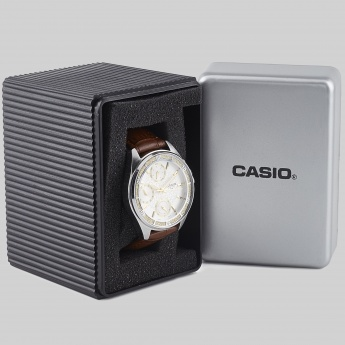 CASIO A859 Multifunction Leather Watch