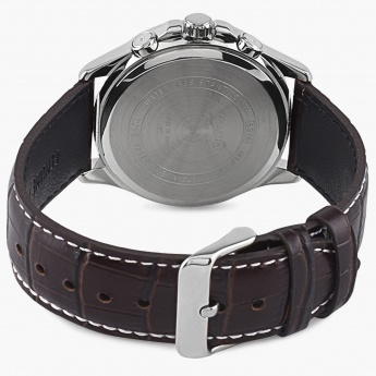 CASIO A955 Multifunctional Leather Watch