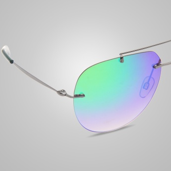 FCUK Mirrored Aviator Sunglasses