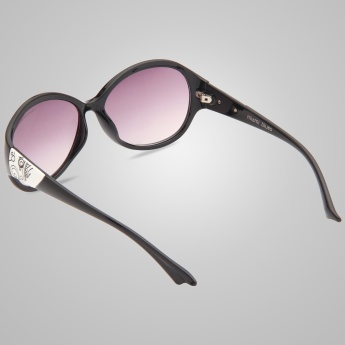 Miami Blues Oval Sunglasses