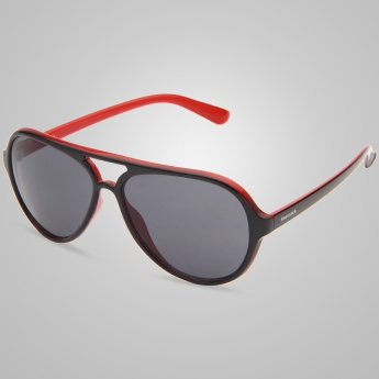 FASTRACK P296BK1 Aviator Inspired Sunglasses
