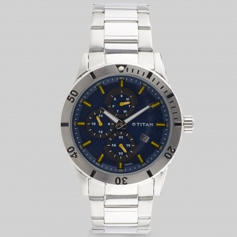 TITAN 1621SM03J Men Multifunction Watch