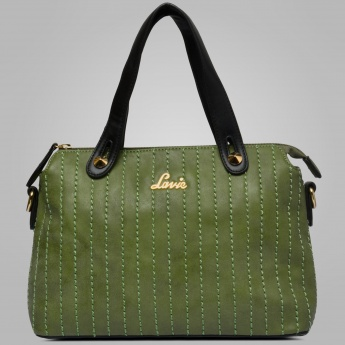 LAVIE Stitch-Styled Lush Handbag