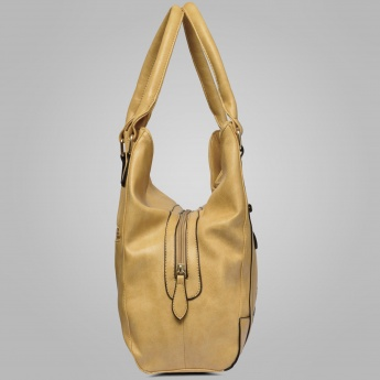 LAVIE Solid Hobo Handbag