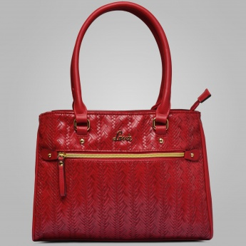 LAVIE Textured Cherry Blossom Handbag