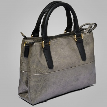 LAVIE Solid Dusky Tote Bag