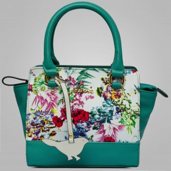 LAVIE Floral Printed Birdie Handbag