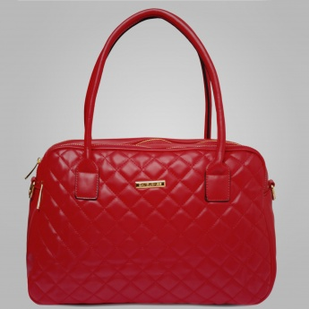 DAVID JONES Scarlet Baguette Handbag