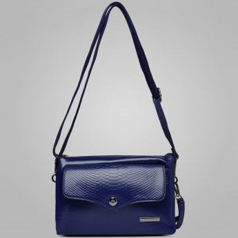 DAVID JONES Hues Multiple Compartments Sling Bag