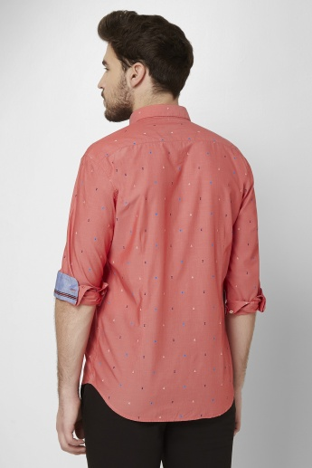 LP Woven Haze Roll-Up Sleeves Shirt