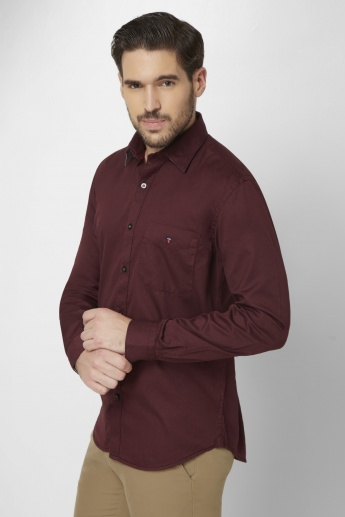 LP Solid Full Sleeves Shirt
