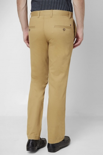 LP Solid Semi Casual Pants