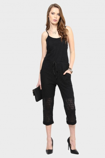GINGER Cropped Jumpsuit