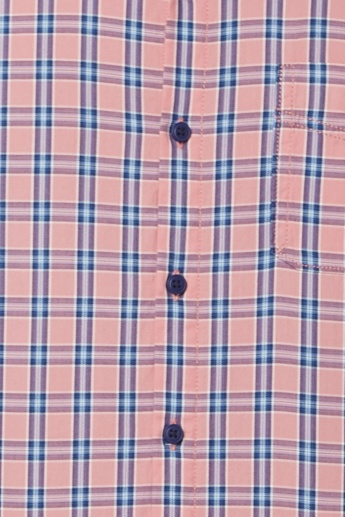 BOSSINI Checks Print Smart Casual Shirt
