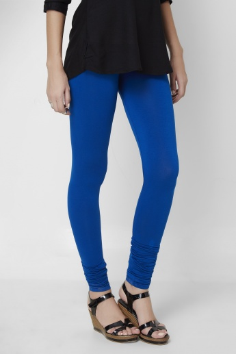 MELANGE Solid Knit Leggings