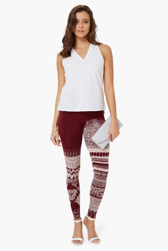 COLOUR ME Printed Leggings