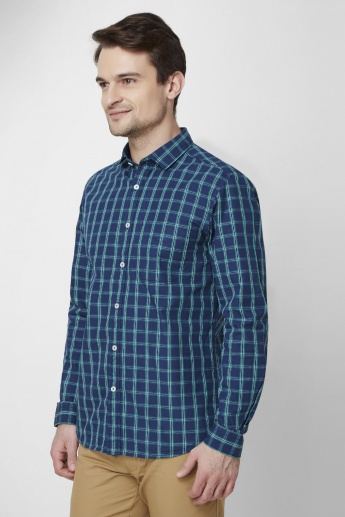 CODE  Checkered Full Sleeves Shirt