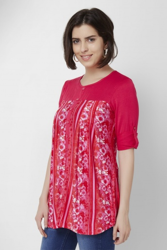 AND Floral Printed Tunic