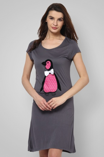 STRINGS Pretty Penguin Night Dress