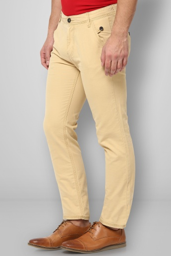 BOSSINI Solid Slim Fit Trousers