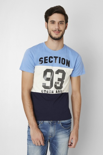 BOSSINI 93 Avenue Printed Crew Neck T-Shirt