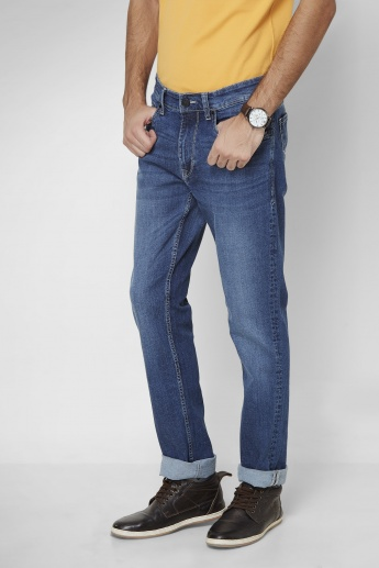 U.S. POLO ASSN. Mid Rise Indigo Washed Denims