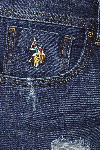 U.S. POLO ASSN. Whiskered & Ripped Jeans